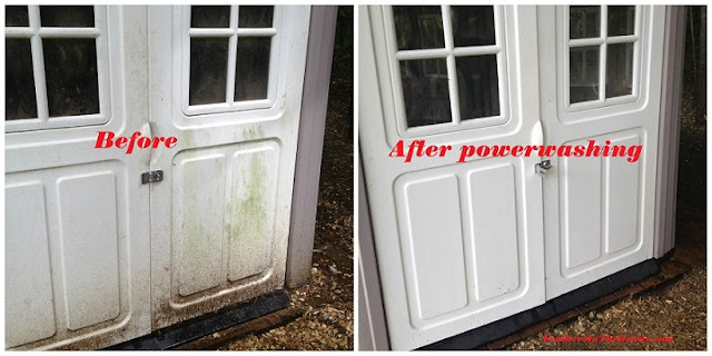 how to powerwash coop