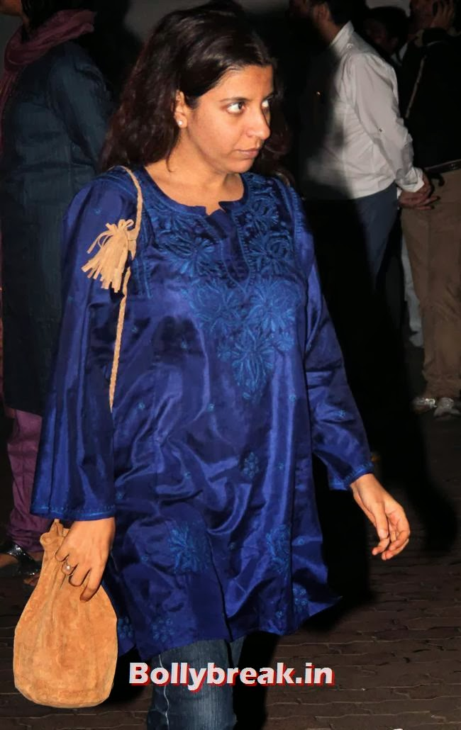 Zoya Akhtar, Celebs at Farooq Sheikh Prayer Meet