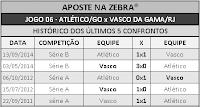 LOTECA 705 - HISTÓRICO JOGO 06