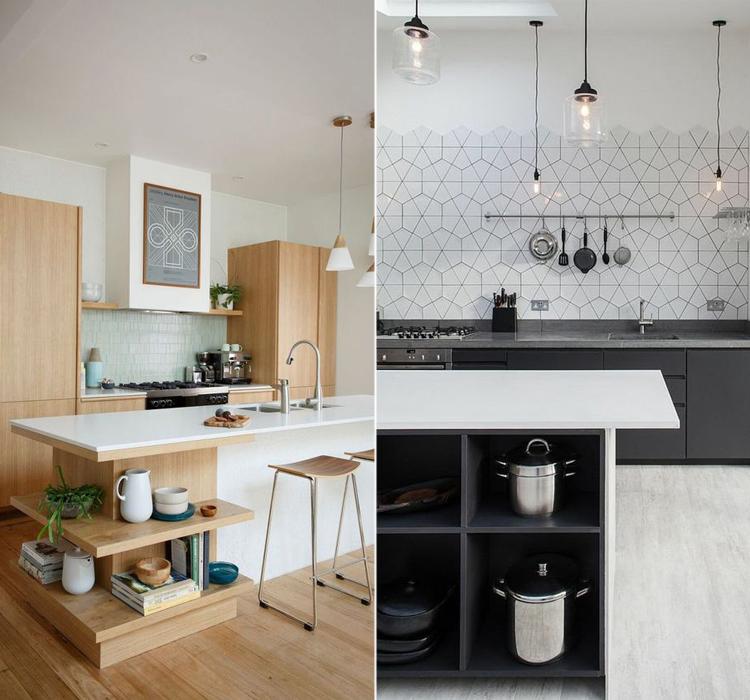 Cucina a vista idee per arredare casa arredamento facile for Idee cucina living