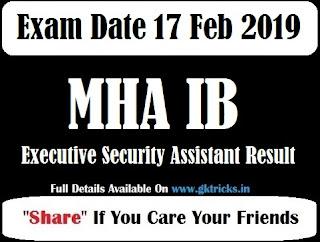 ib executive result