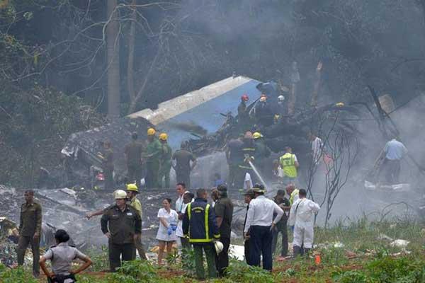 Tragedia aérea en La Habana, Cuba
