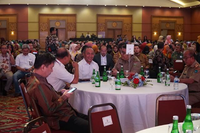 Sekda Muba Hadiri Seminar dan Dialog Nasional Pengelolaan SDA