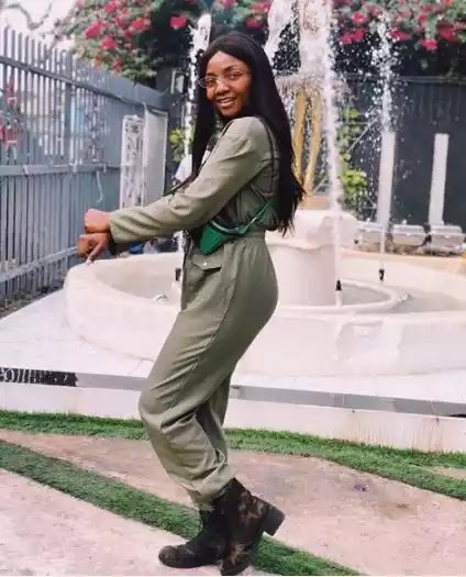 Singer Simi Steps Out In Controversial Outfit Again (Photos)