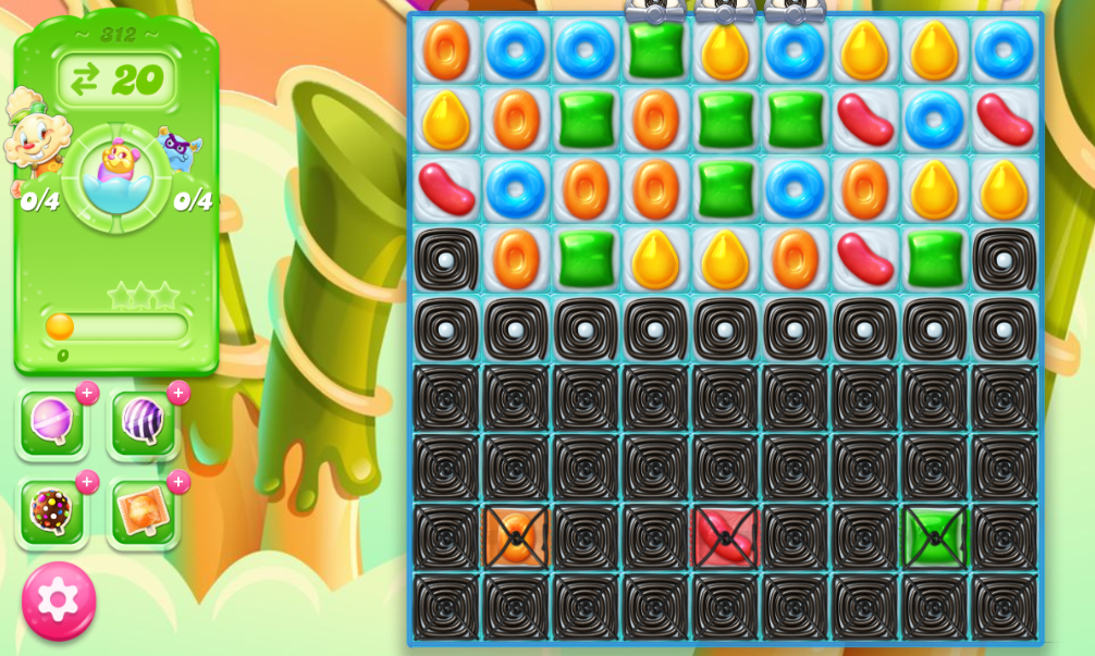Candy Crush Jelly Saga 312