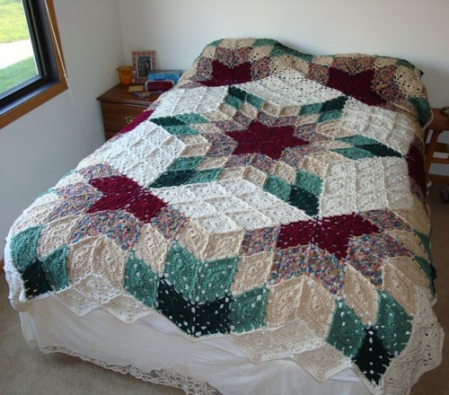 Prairie Star Afghan - Free Pattern