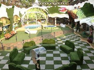 Bigg boss 9 house garden area