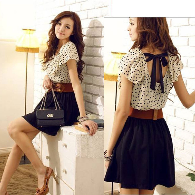 Model Dress Korea Sifon Nyaman Digunakan Fashion Terkini