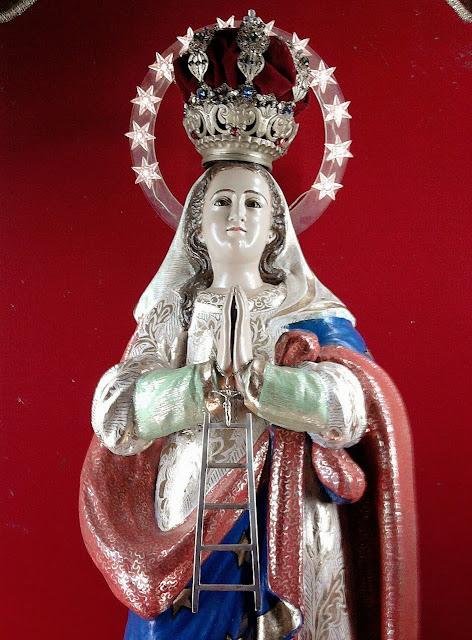 A devoção a Nossa Senhora da Escada se espalhou pelo Brasil. Nossa Senhora da Escada, Escada, PE