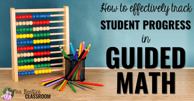 Thinking about trying Guided Math? Getting organized to track student progress is important for Guided Math success. Learn how to easily and quickly collect data during hands-on student centers and teacher-directed lessons in this final post of a three-part Guided Math series.