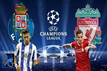 Assistir Porto x Liverpool  ao vivo 14/02/2018