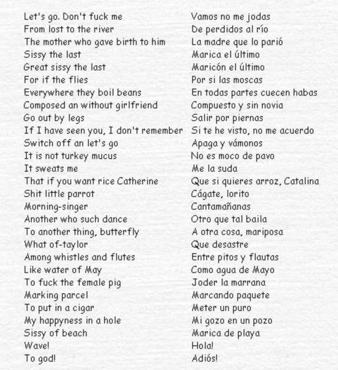 Frases En Ingles Traducidas