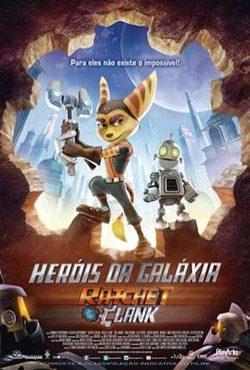 Capa Heróis da Galáxia – Ratchet e Clank Torrent