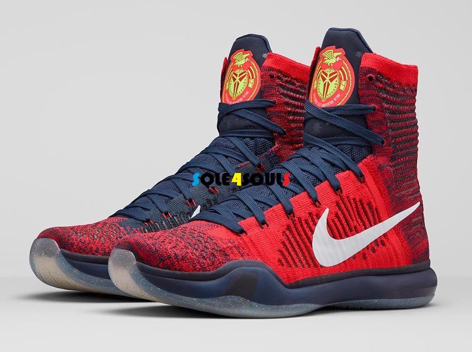 """best website 05cc2 8beca Nike Kobe 10 Elite """"American"""""""