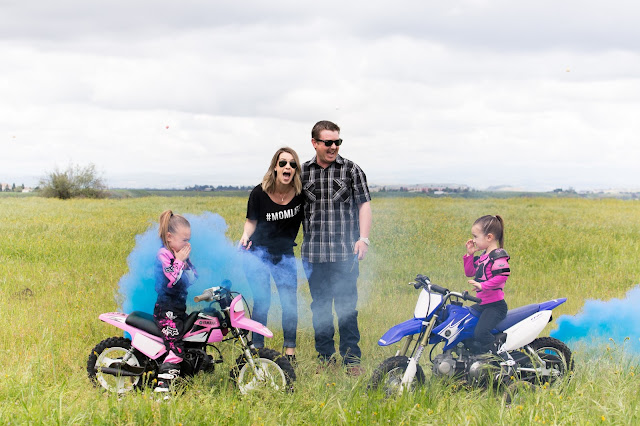 Motorcycle Gender Reveal