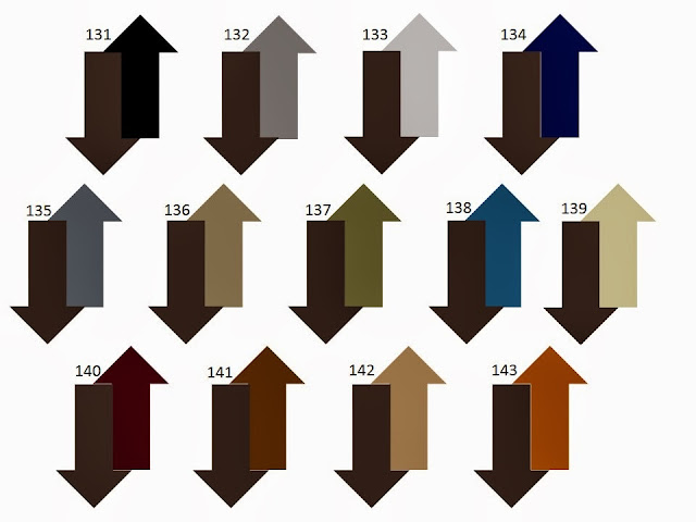 13 combinations of a secondary neutral color with dark chocolate brown