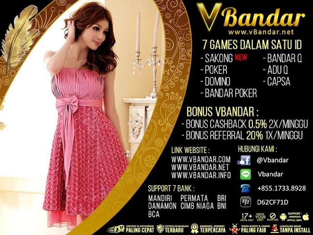 VBANDAR Agen Remi9 Judi Sakong Bandar Poker Online Indonesia - www.AgenJudiOnlineQDewi.net
