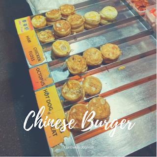 Jajanan dan Makanan Ringan khas Melaka Malaysia - Chinese Burger
