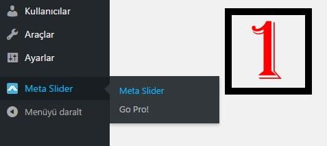 Wordpress Meta Slider Nasıl Kullanılır?