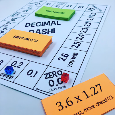 https://www.teacherspayteachers.com/Product/Decimal-Dash-A-Multiplying-Decimals-Board-Game-3280465