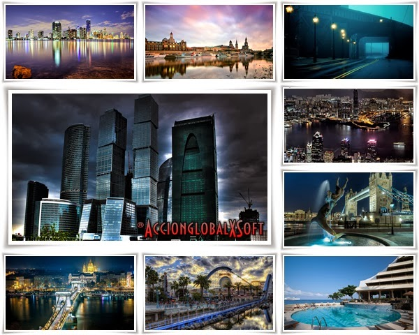 Wallpapers paisajes urbanos HD - Pack 9