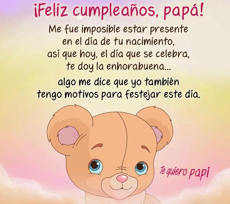 Cumpleaños Papá