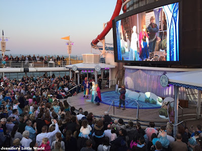 Disney Magic Frozen show