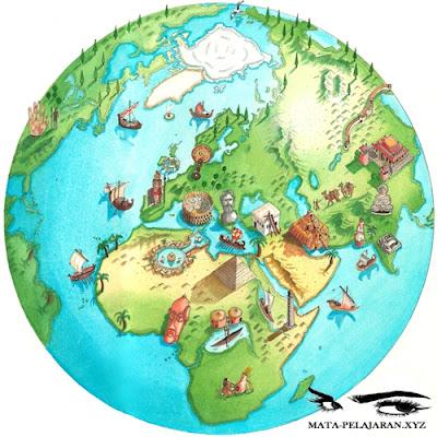 Geografi, Cabang Ilmu Geografi, Geografi Fisik, Geografi Manusia, Geografi Teknik.