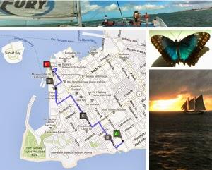 Route Florida Keys West