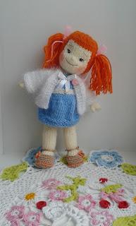 #вязаная_куколка_спицами