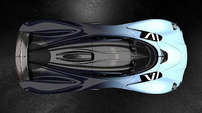 Futuristiknya Aston Martin Valkyrie Versi Produksi