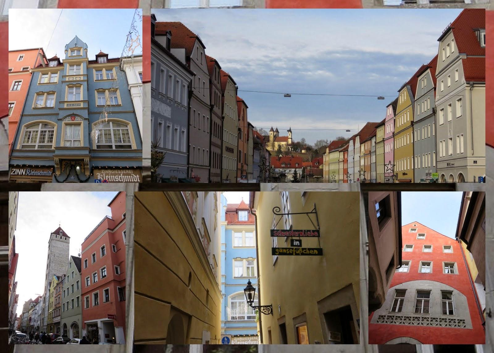 Regensburg - Pastel Buildings