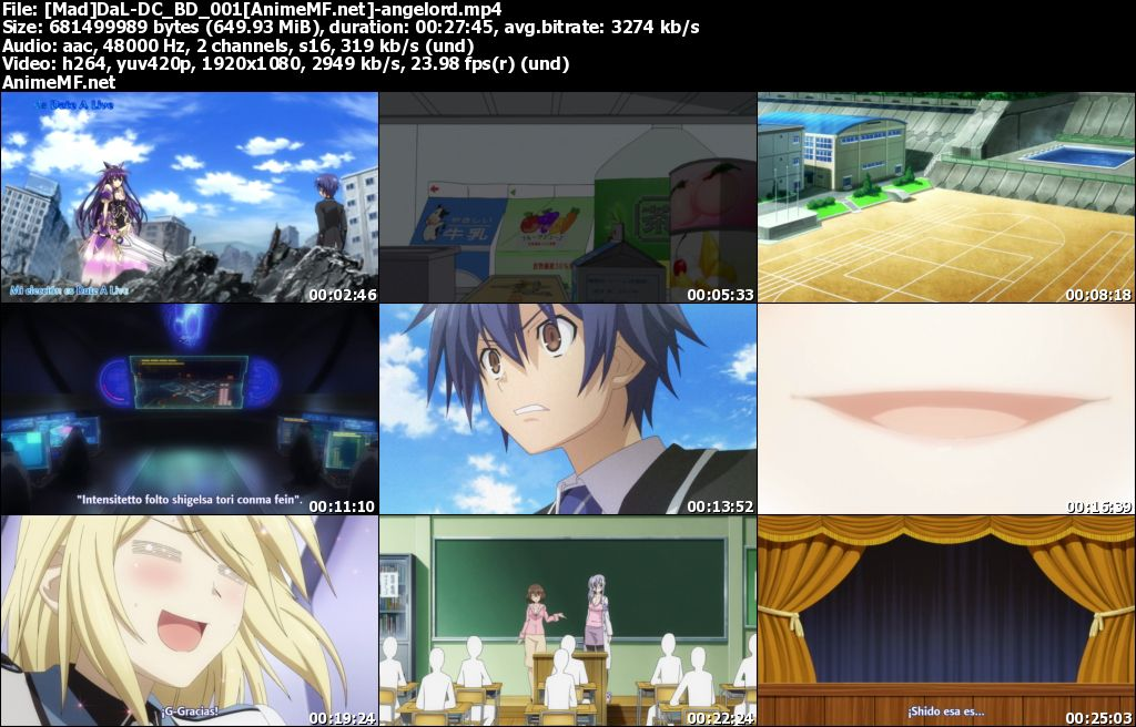 Date A Live Ep 01