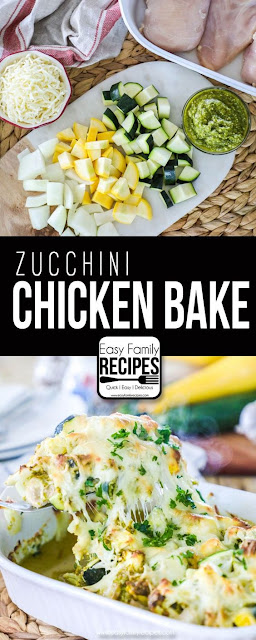 Delicious Chicken Zucchini Casserole