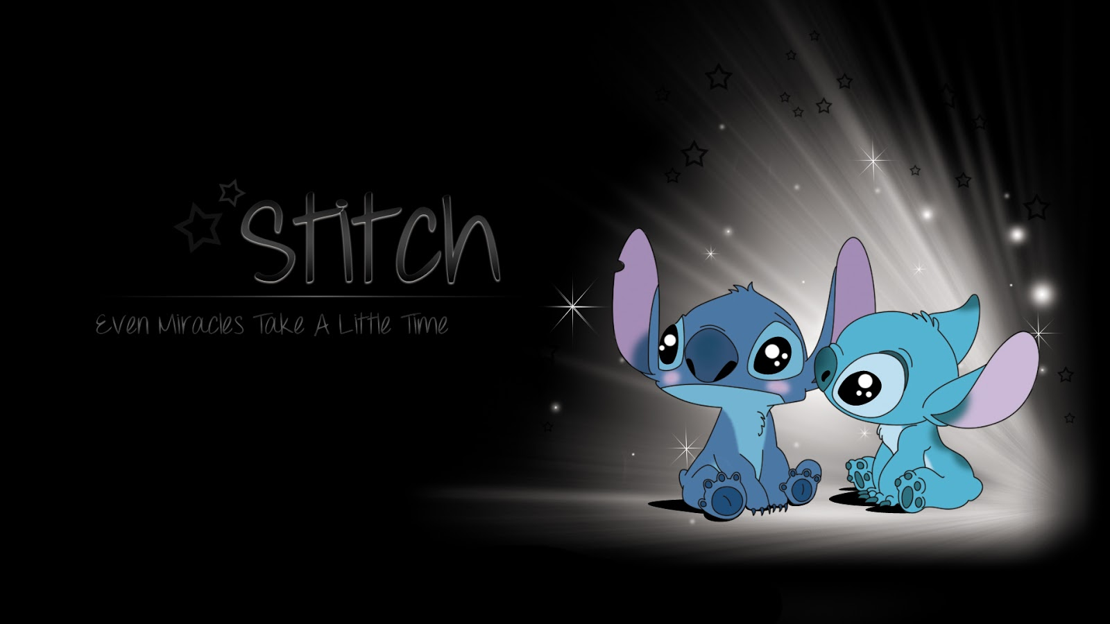 Hình nền Stitch dễ thương, Ảnh nền Stitch đáng yêu cho máy tính