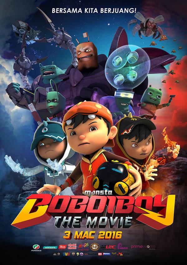 Xem Phim BoBoiBoy Phiêu Lưu Ký 2016