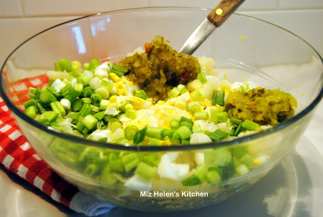 Mustard Potato Salad at Miz Helen's Country Cottage