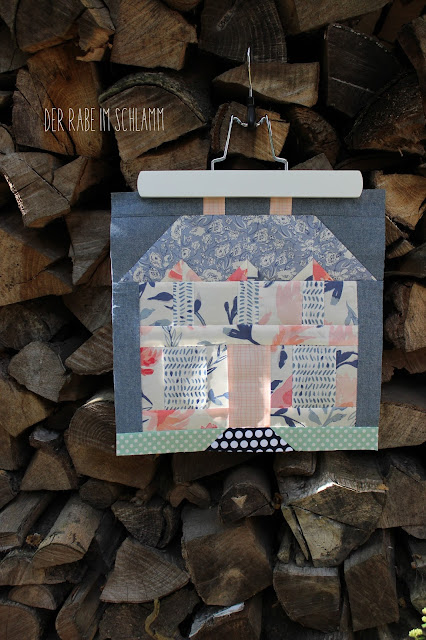 Wonderful Things Fabrics, Farmhouse Block, Patchwork, Quiltblock, Sewing, Nähen