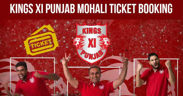 Kings XI Punjab Ticket Booking I.S. Bindra Mohali: Cost and Price List: IPL 2018
