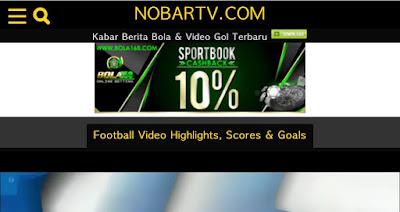 situs website streaming bola terbaik dan terpopuler
