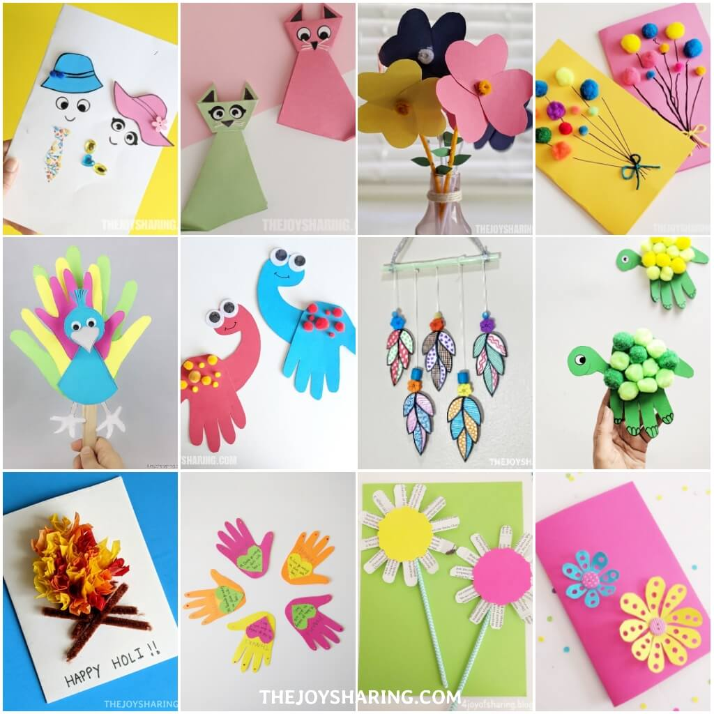 20+ Paper Crafts for Kids   The Joy of Sharing