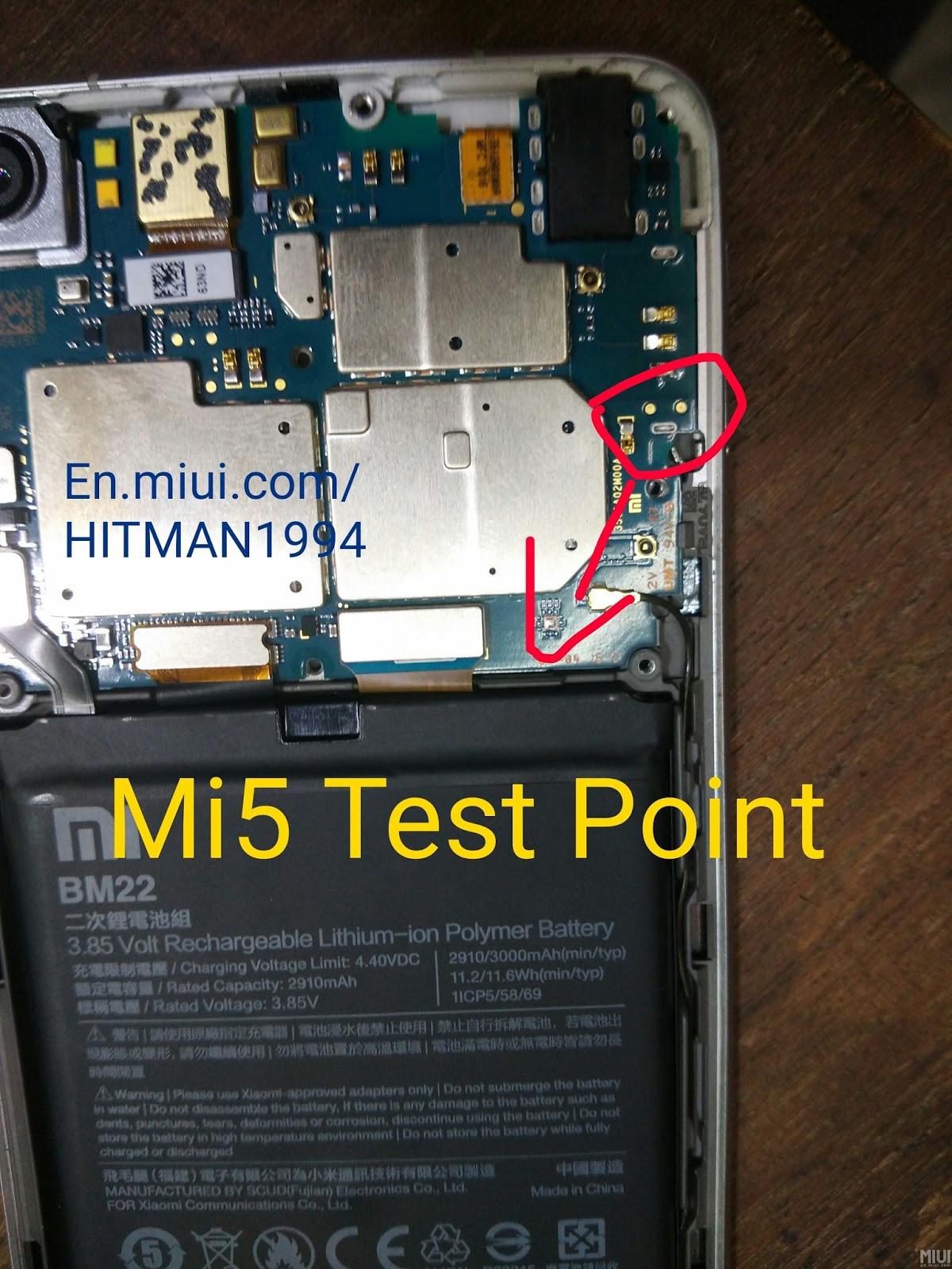 Redmi 5 Test Point : redmi, point, Xiaomi, Center: