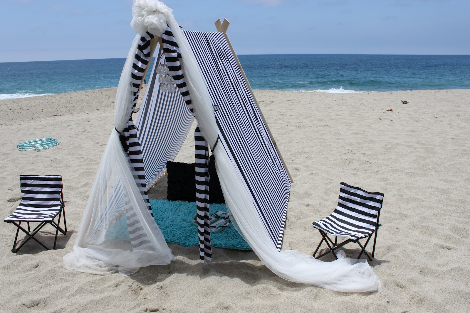Sail Cloth Beach Chairs Kitchen Dining Chair Pads Pretend Party And Play Glam