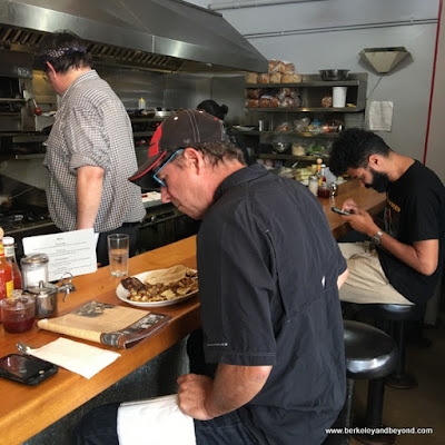 counter seating at Homemade Cafe in Berkeley, California
