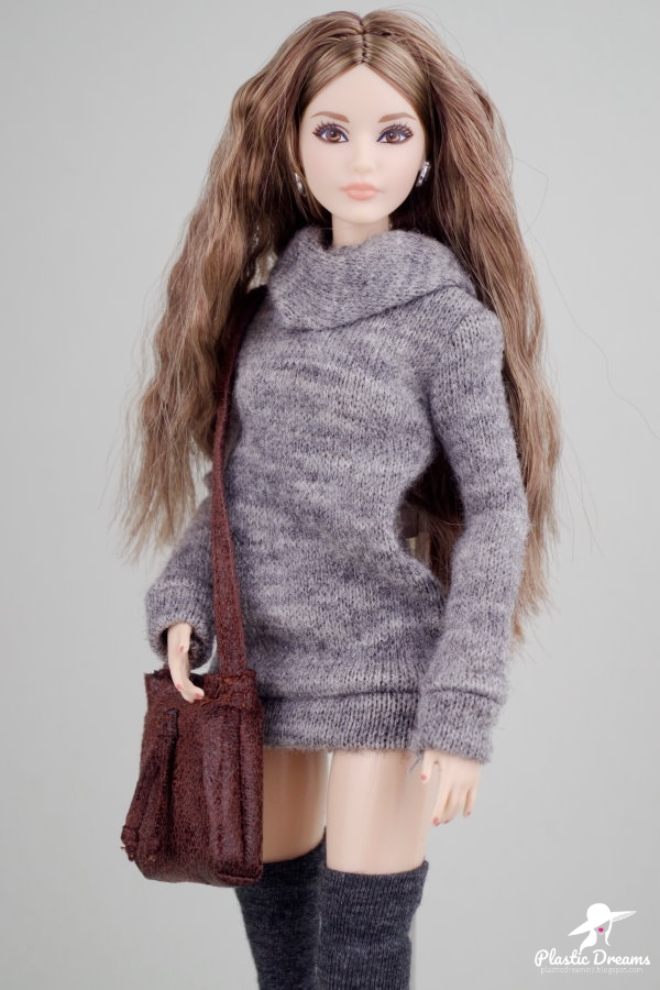 the look barbie doll sweater dress