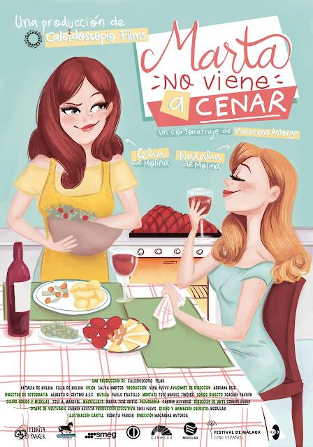 'Marta no viene a cenar', un corto de Macarena Astorga