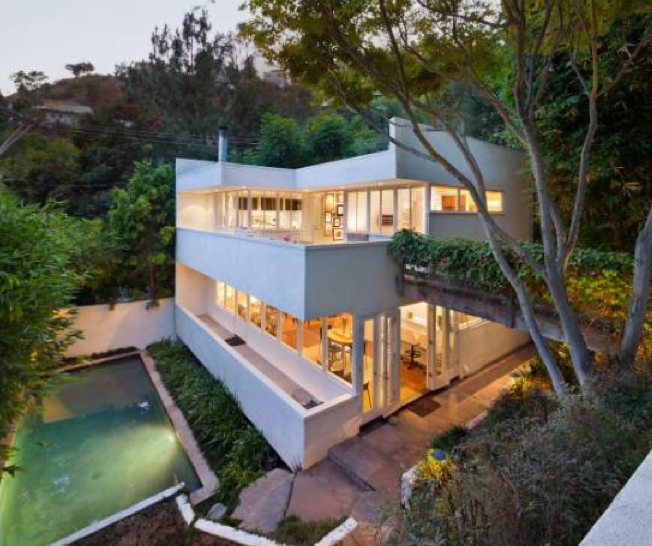 Mid Century Modern House: Modern Homes Los Angeles: Top 2013 Mid-Century Modern