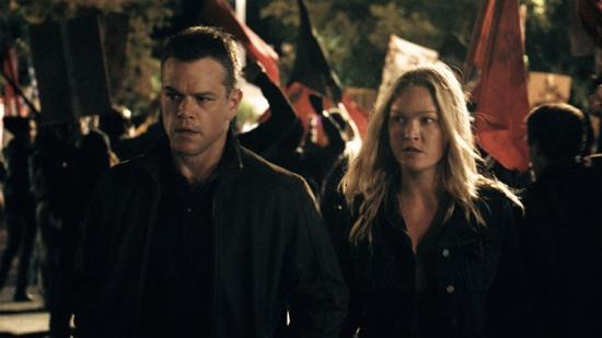 Matt Damon y Julia Stiles en un momento de la película