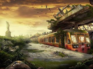3D Abstract Train hd photos
