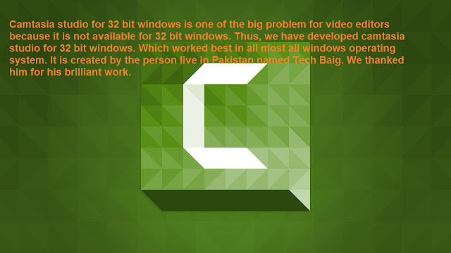 Camtasia studio for 32 bit windows